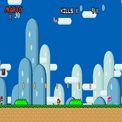 мир супер Марио играть