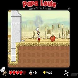 Играть в игру пиццерия Папы Луи