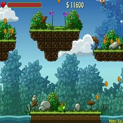 Игра про лягушку которая прыгает по кувшинкам