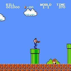 Супер Марио Кроссовер игра