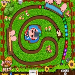 Игра жемчуг для свиней