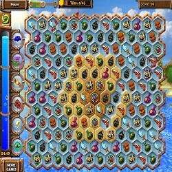 Игра 3 в ряд Сокровища Пиратов