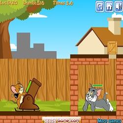 Том и Джерри взрывают бомбы игры