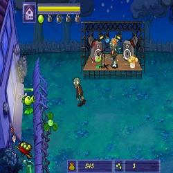 играть в горох против зомби
