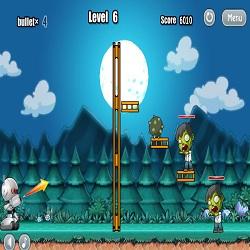 Роботы против Зомби играть в игру