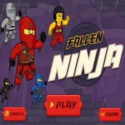 Игра Ниндзяго падший ниндзя