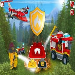 Игра Лего Сити лесные пожарные