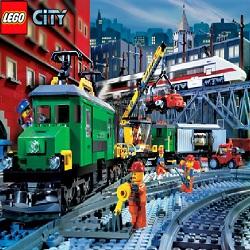 Майнкрафт игра поезд лего