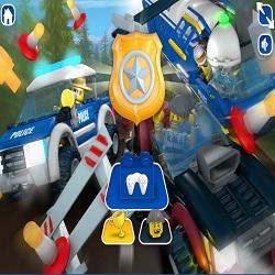 Играть в игру Лего Полиция