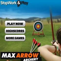 Игра стрельба из лука в мишень 3д
