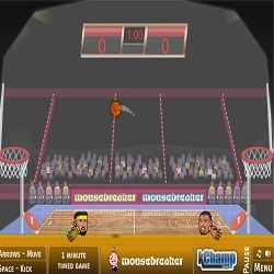 Игры на двоих спортивные головы баскетбол