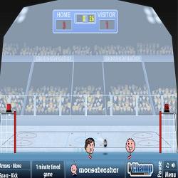 Играть в спортивные головы хоккей