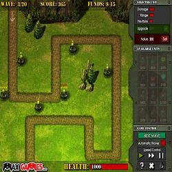 Игра Фронтовая Оборона