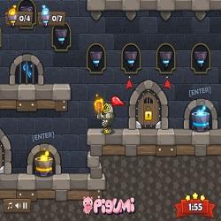 Играть в игру Рыцарь в замке