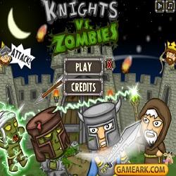 Игра Защита Замка от Зомби