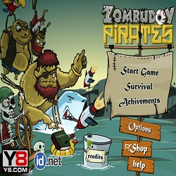 Зомби против пиратов играть