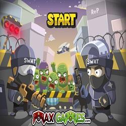 Играть в игру Вторжение Зомби