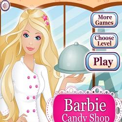 Игра Барби Кондитерская